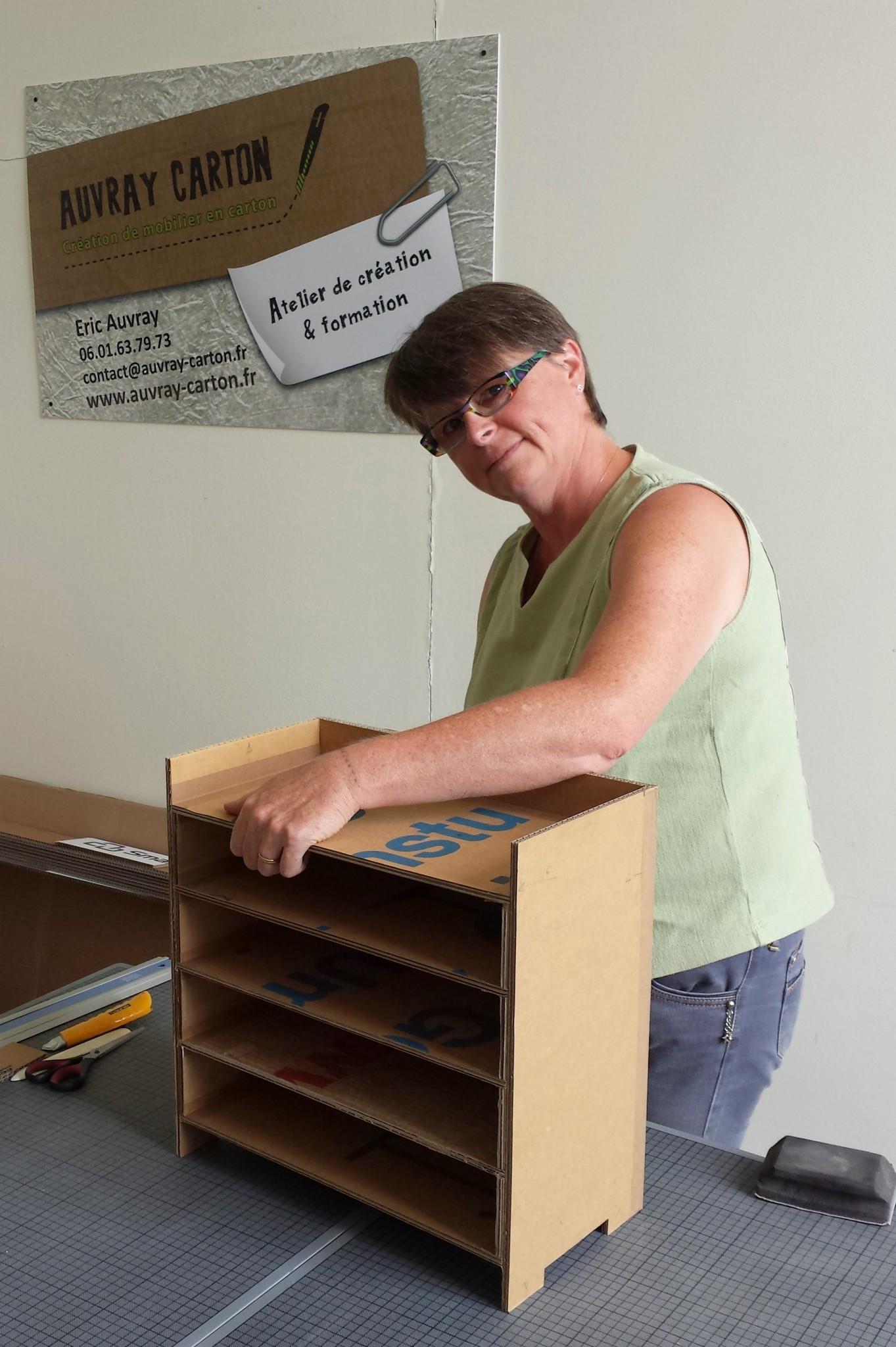 Souvent AUVRAY CARTON | Atelier de création de mobilier en carton PZ06